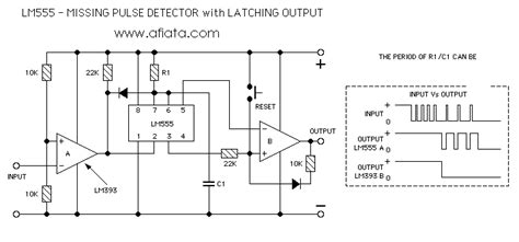 pulse detector circuit diagram lm555 circuit pulse detector part 6 electronic circuit