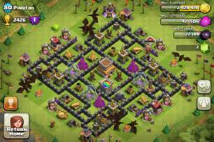 Town hall level 8 designs