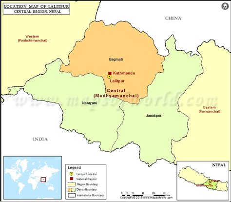 map of lalitpur nepal where is lalitpur location of lalitpur in nepal map