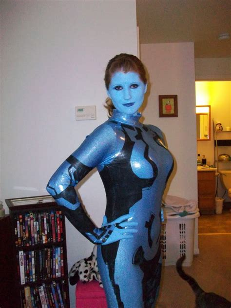 do you wear makeup cortana my cortana build halo costume and prop maker community