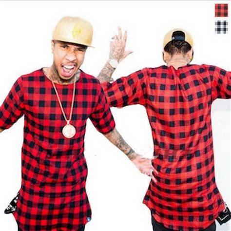 Longline Swag T Shirt Swag T Shirt Younglex 1 extended hip hop t shirt side zipper swag