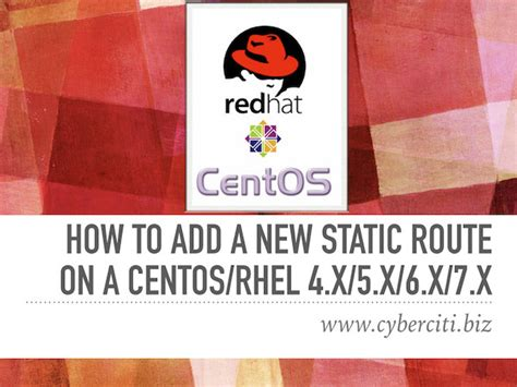 redhat in centos 6x how can i upgrade to kernel 34 red hat enterprise linux static routing configuration for