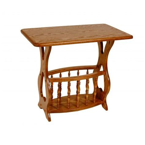 Magazine Table by Magazine Table Amish Crafted Furniture