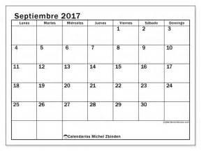 Calendario Septiembre 2017 Para Escribir Calendario Septiembre 2017 Para Imprimir Gratis