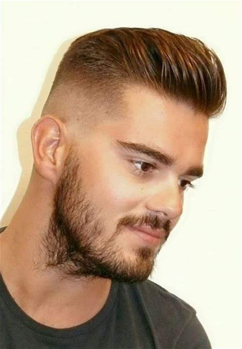 how to gentlemens cut skin fade pomp barbershops pinterest signs and photos