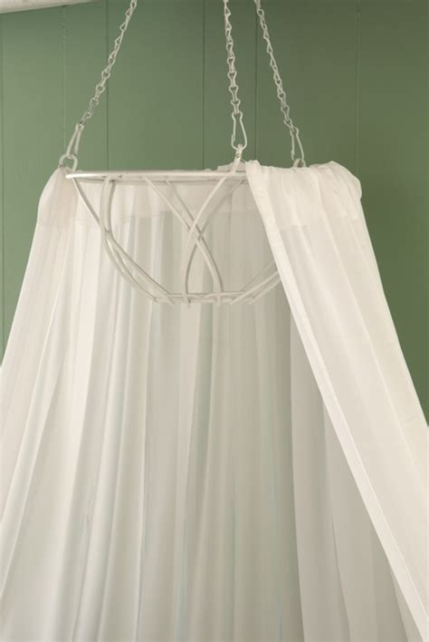 Hanging Bed Canopy with Diy Bed Canopy From Hanging Basket Decor Pinterest