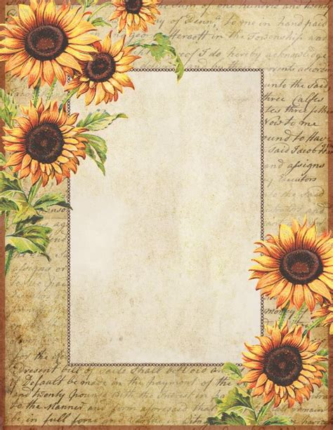 printable sunflower leaves 150 best images about fall autumn thanksgiving clip art