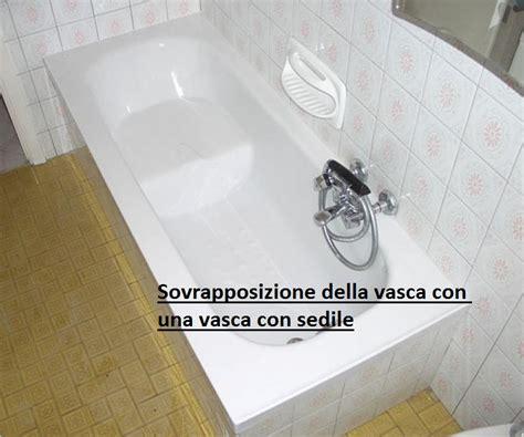 vasca da bagno con sedile sovrapposizione della vasca con una vasca con sedile