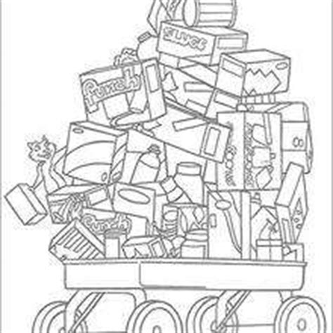 food cart coloring page food drawing for kids reading and learning daily kids