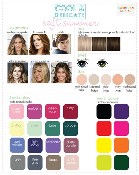 hair colors for summer skin tones color analysis 3 degrees of cool i have heard people