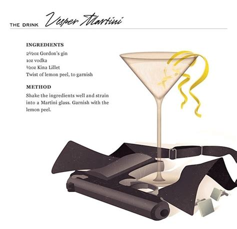 bond martini the 25 best vesper martini recipe ideas on