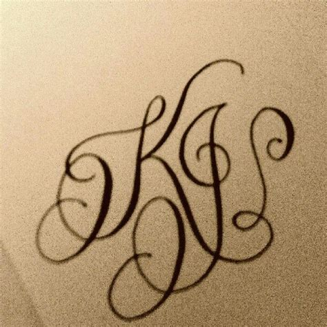 monogram tattoo designs the 25 best monogram ideas on