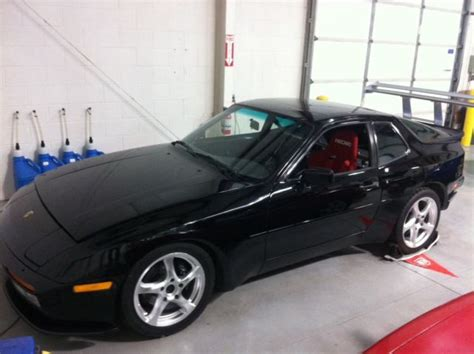 modified porsche 944 porsche 944 coupe 1987 black for sale wp0aa0945hn452399