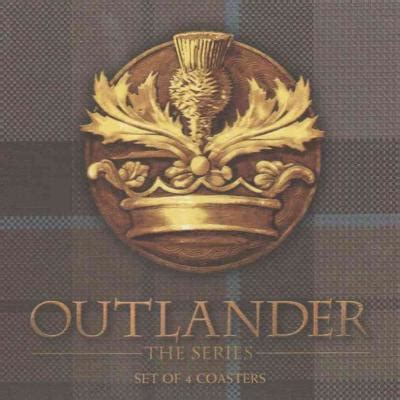 outlander deluxe stationery set books outlander tartan coaster set deluxe