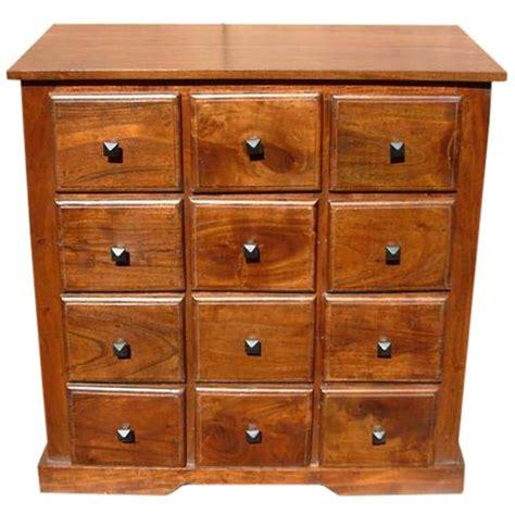 handmade wooden bedroom storage dresser chest   drawers