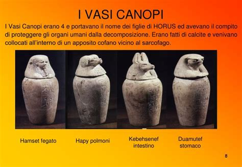 vasi canopi ppt gli antichi egizi powerpoint presentation id 4051458