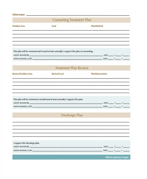 Smart Treatment Plan Template Templates Collections Cancer Treatment Plan And Summary Templates