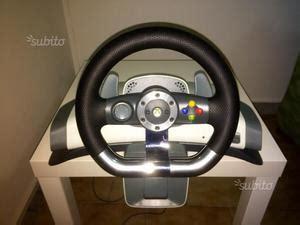 volante xbox 360 usato xbox wireless racing wheel volante torino posot class
