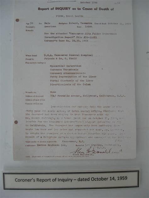 errol flynns autopsy report flickr photo sharing