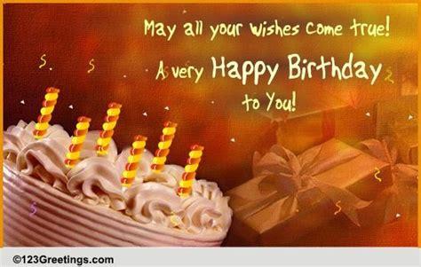 a birthday ecard free birthday wishes ecards greeting