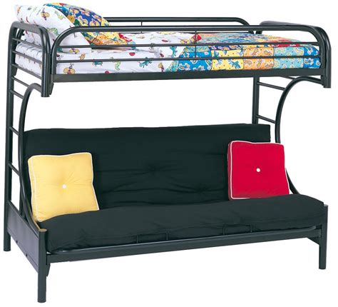 Coaster Mattress by Coaster 2253k Kingsley Bunk Bed With 2002 Futon Mattress