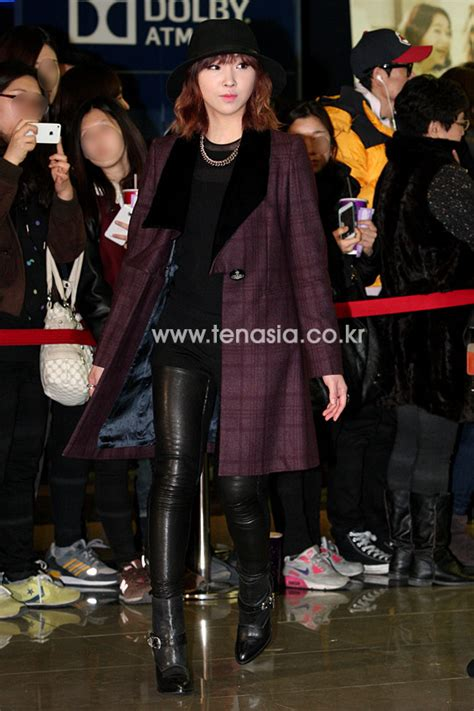 along with the gods vip premiere photos 050214 minzy at a person that god send vip