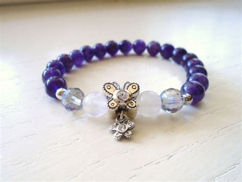 soulmates bracelet sterling silver butterflies by piccreations