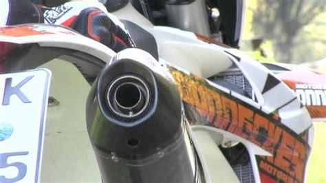 Motorrad Auspuff Neu Stopfen by Ktm Akrapovic Auspuff Sound Mit Db Eater Db Killer Www