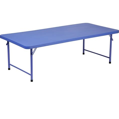 30 x 60 folding table ff plastic folding table 30 x 60 blue