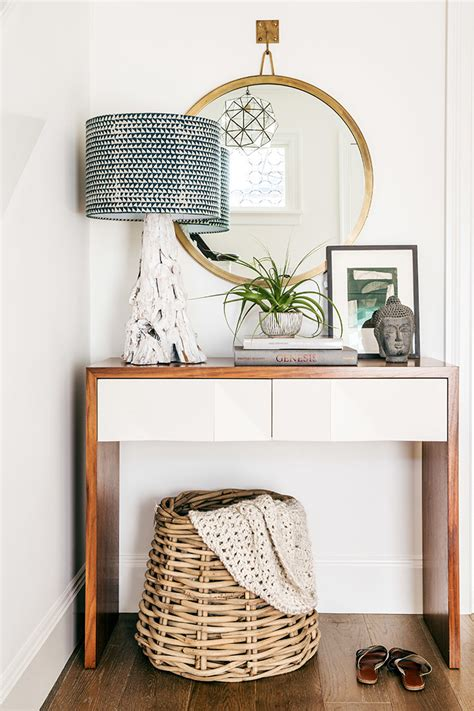 Ideas For Console Table With Baskets Design 13 Neutral Baskets For Any Decor Style Room For Tuesday