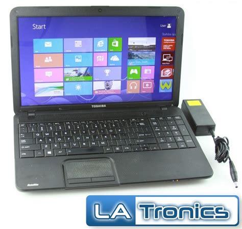 toshiba satellite c855d s5303 15 6 quot amd e 300 1 30ghz 2gb 320gb hdd black laptop ebay