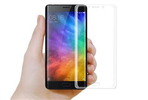 For Xiaomi Note 2 57 Clear Gratis Tempered Ultra Thin Softcas coverage 3d curved tempered glass screen protector