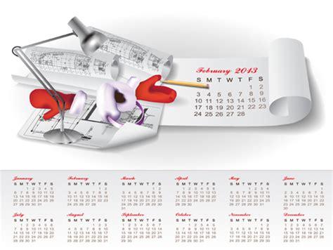Will Calendar Become A Calendar 2013 Design Vector Free Texaserogon