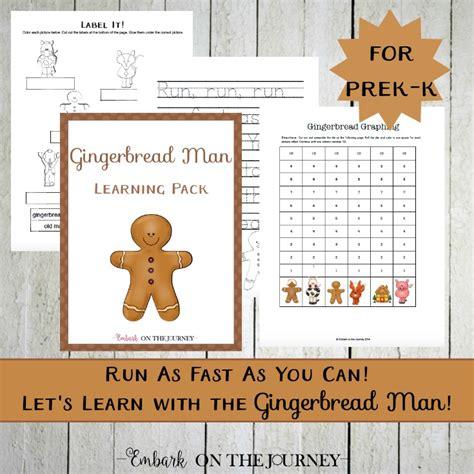 my gingerbread man printable book gingerbread man unit study and printable for prek k