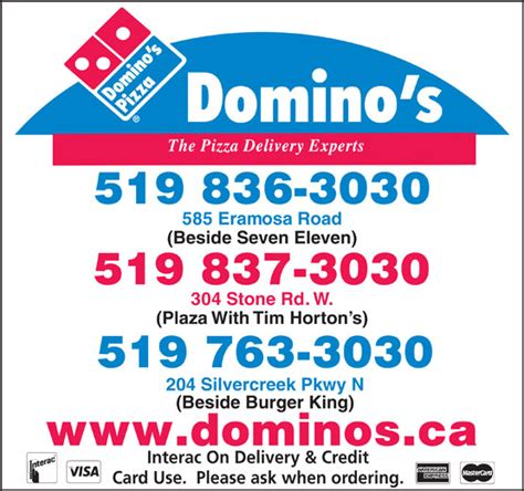 Domino Pizza Delivery Number | dominos pizza phone number
