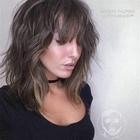 images of four equal layers haircut best 25 medium haircuts with bangs ideas on pinterest