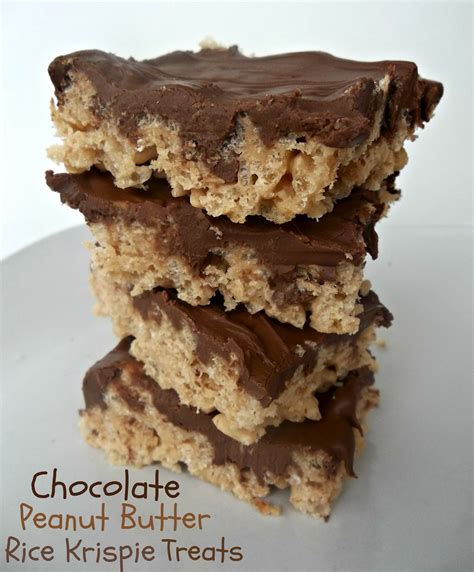 peanut butter treat recipes peanut butter rice krispie treats recipe six stuff six stuff