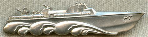 pt boat badge flying tiger antiques online store scarce wwii usn