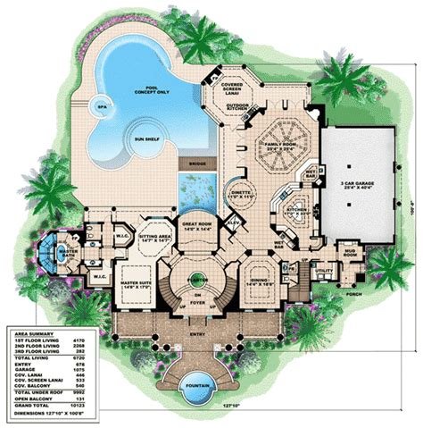 southern luxury house plans plan w66231we southern influenced plantation estate e