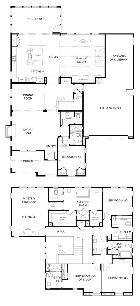 best floor plans images house pictures sun room and open