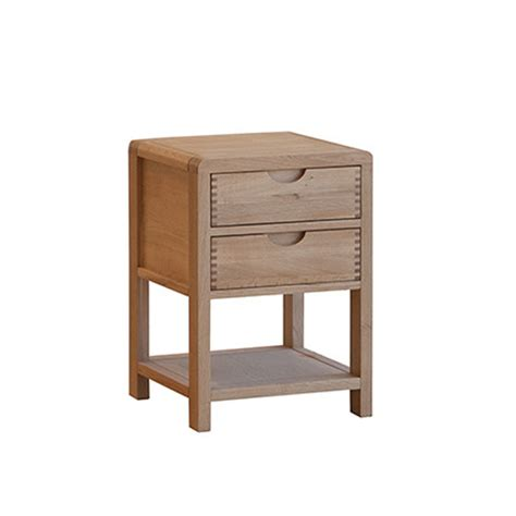 Choice Furniture by Ercol Bosco Bedside Cabinet Choice Furniture