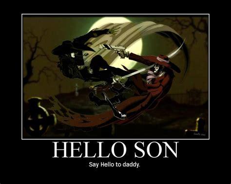 Hellsing Meme - helsing meme alucard hellsing and castlevania pinterest