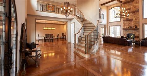 concrete floors pros cons  concrete flooring