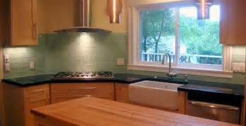 green glass backsplashes for kitchens robin s egg blue subway tile backsplash home design