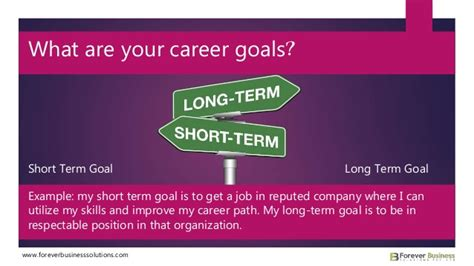 important career goals every person should have