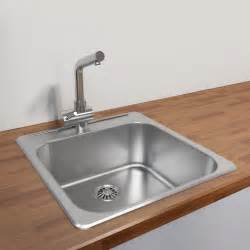 kitchen sinks cantrio koncepts kss 2020 kitchen steel series single bowl