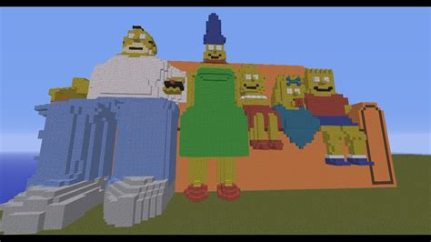 simpsons minecraft couch gag see the simpsons minecraft intro video gaming cypher