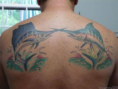 saltwater tattoo designs 16 saltwater fish tattoos