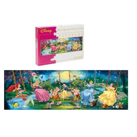 disney clementoni swinging princess panorama 1000