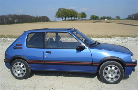 pug gti 1986 peugeot 205 gti 1 9 related infomation specifications weili automotive network